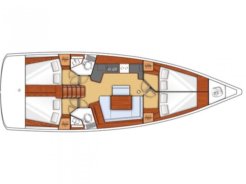 noleggio Barca a vela Marsala - Bénéteau Oceanis 45
