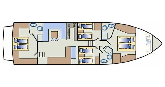 Noleggio barche Yaretti Yaretti 1910 a Primošten su Samboat