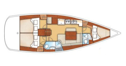 Noleggio Barca a vela a Atene – Bénéteau Oceanis 40