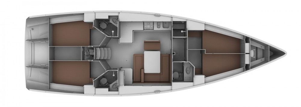 noleggio Barca a vela Palma - Bavaria Bavaria Cruiser 45