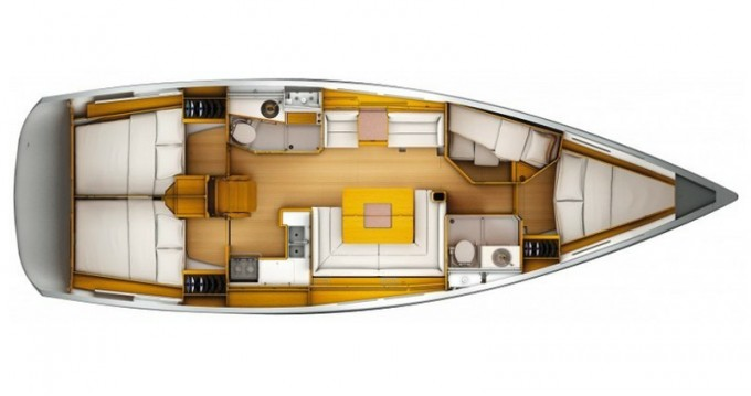 Noleggio barche Jeanneau Sun Odyssey 439 a Palma de Maiorca su Samboat