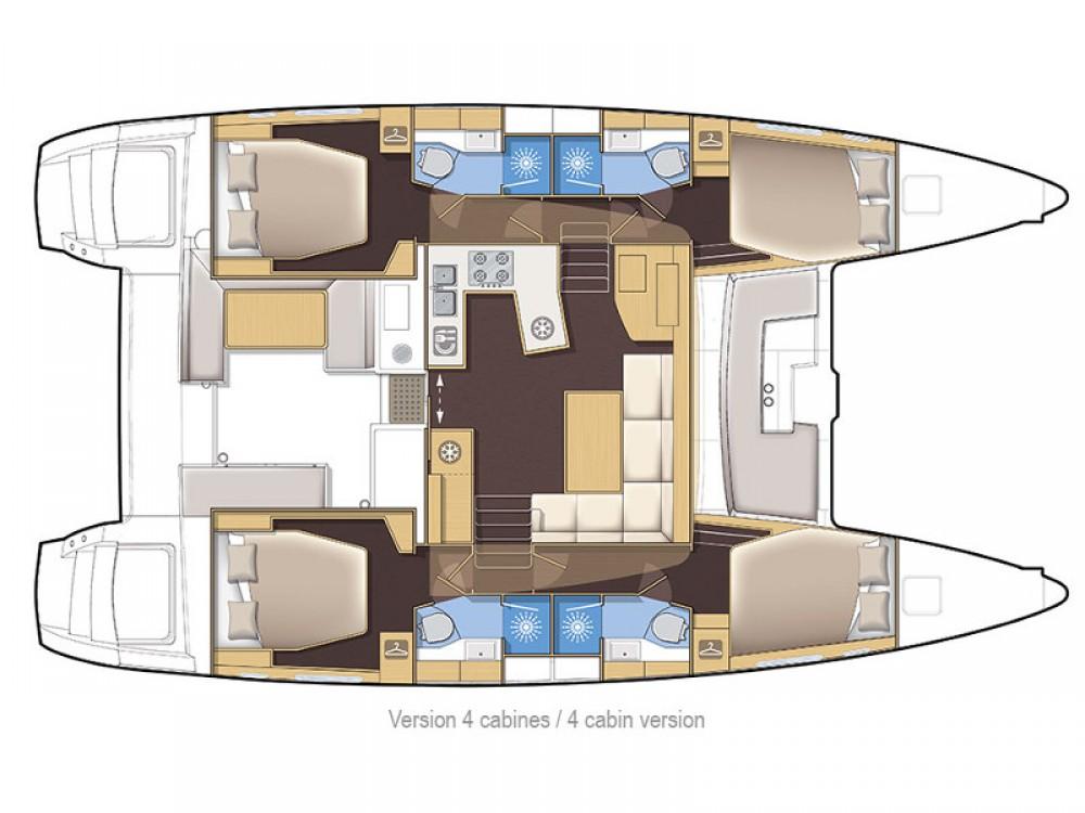 Noleggio barche Palma di Maiorca economico Lagoon 450 Sport