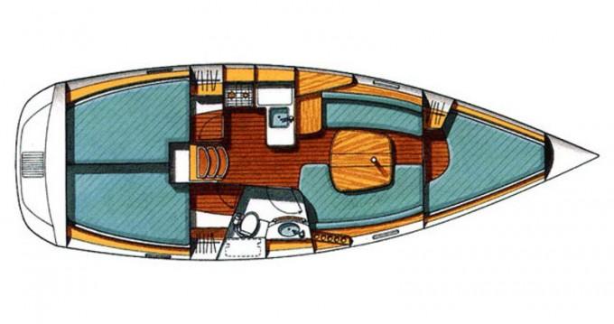 Noleggio barche Traù economico Beneteau Oceanis 331 Clipper
