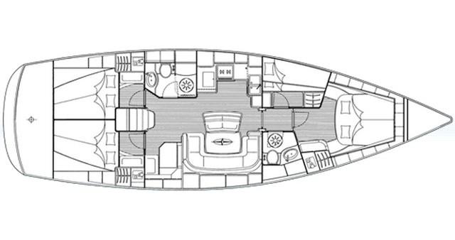 Noleggio barche Traù economico Bavaria 46 Cruiser