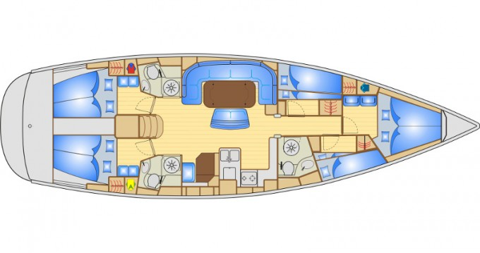 Noleggio yacht a Ibiza Town – Bavaria Bavaria 50 su SamBoat