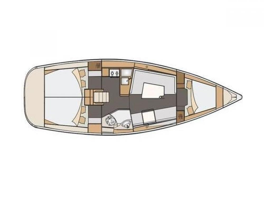 Noleggio Barca a vela Elan con una patente