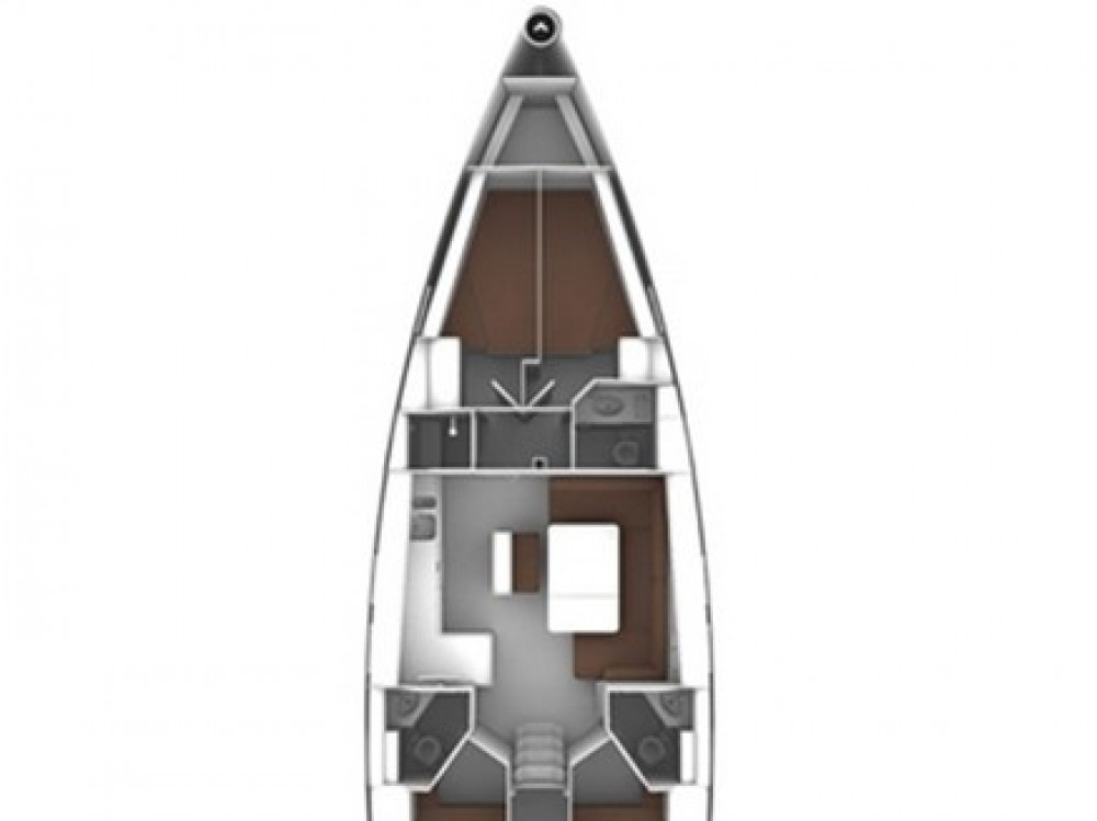 Noleggio barche Olbia economico Bavaria Cruiser 46