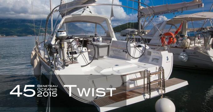 Barca a vela a noleggio a Tivat al miglior prezzo