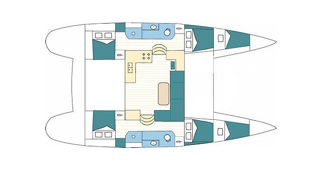 Noleggio barche Lagoon Lagoon 39 a Split su Samboat