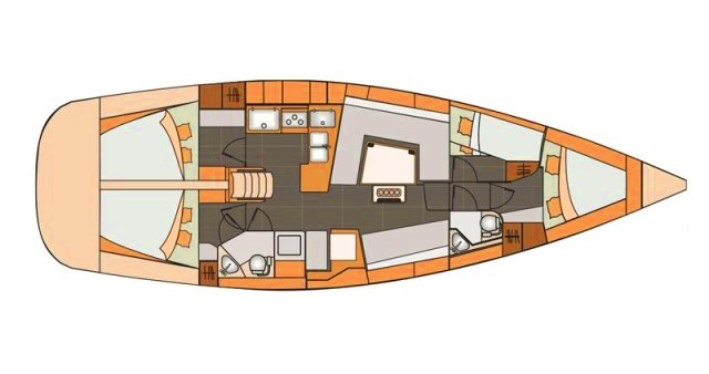 Noleggio barche Elan Impression 45 a Split su Samboat