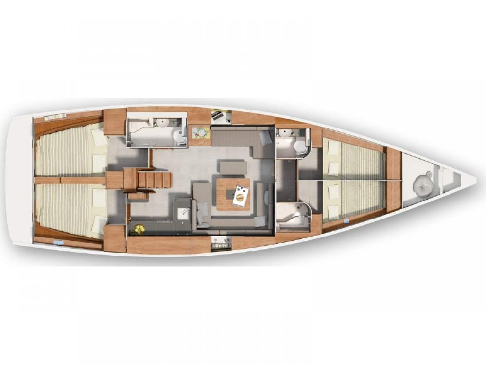 noleggio Barca a vela Spalato - Hanse Hanse 455