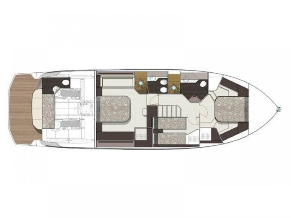 noleggio Barca a motore Spalato - Cranchi Cranchi E 52 F Evoluzione