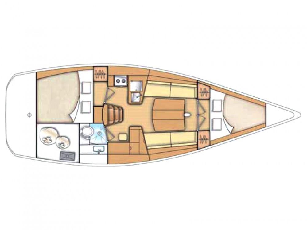 Noleggio yacht  - Bénéteau First 35 su SamBoat