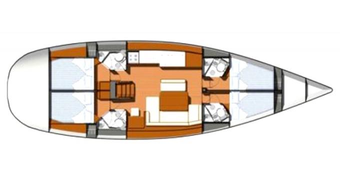 Noleggio yacht a Marina di Portisco – Jeanneau Sun Odyssey 49i su SamBoat