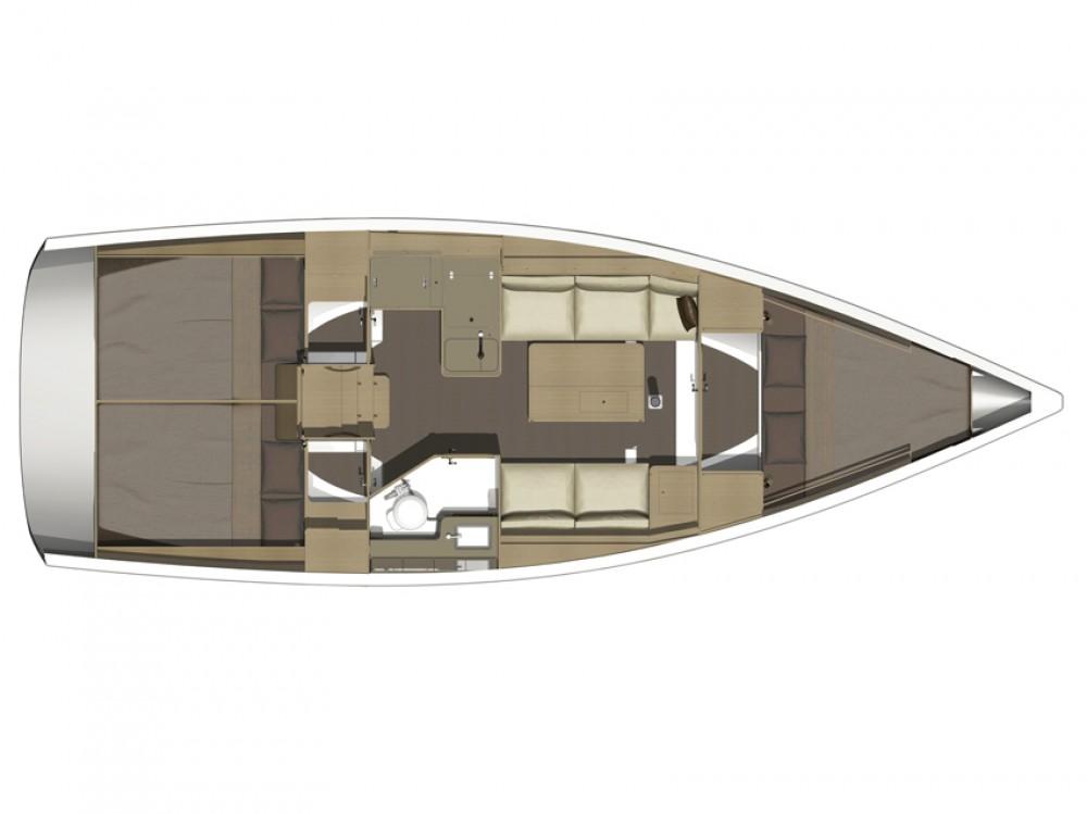 Noleggio Barca a vela con o senza skipper Dufour Marina di Portisco