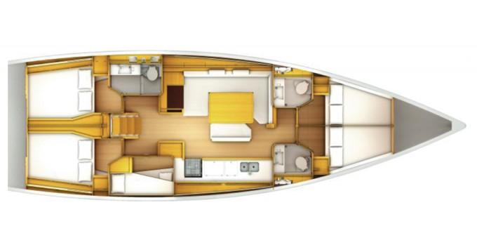 Noleggiare una Jeanneau Sun Odyssey 509 a Marina di Portisco