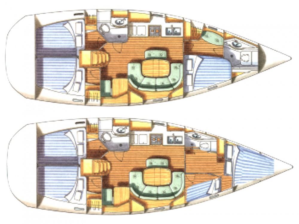 Noleggio yacht Marina di Portisco - Bénéteau Oceanis 411-4* su SamBoat