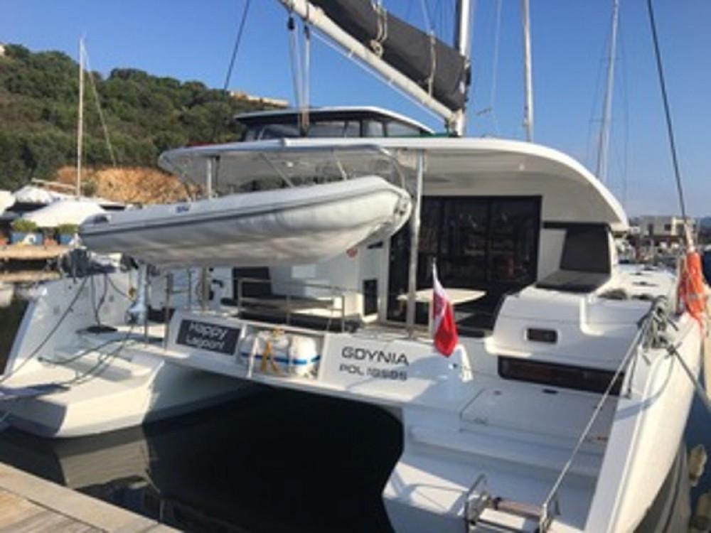 Noleggio barche Olbia economico Lagoon 42
