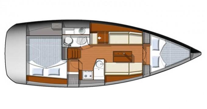 Noleggio yacht a Sukošan – Jeanneau Sun Odyssey 33i su SamBoat
