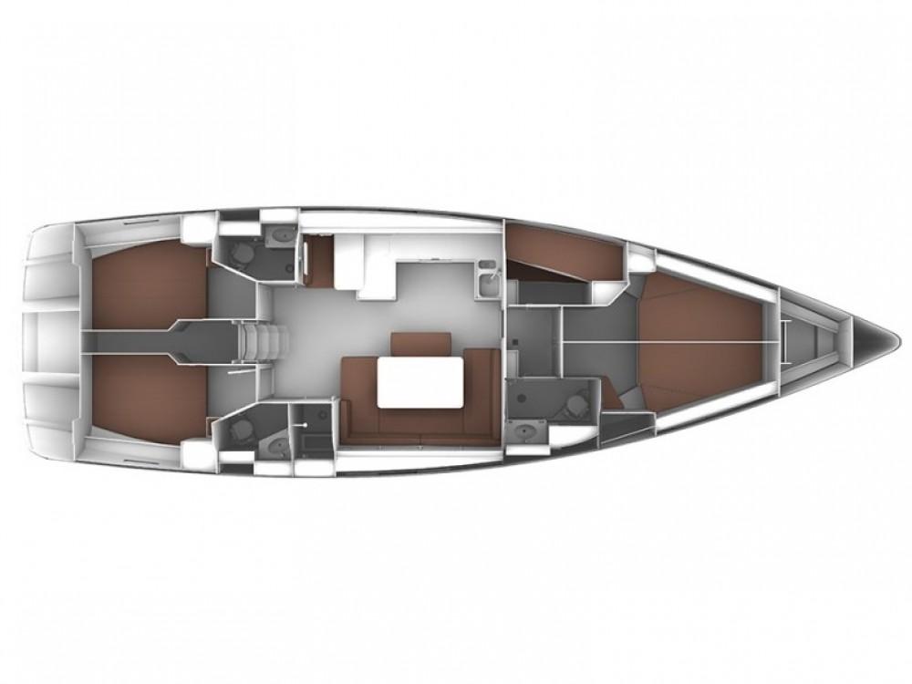 noleggio Barca a vela Sukošan - Bavaria Bavaria Cruiser 51