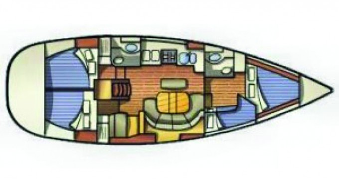 Noleggio barche Bénéteau Oceanis 411 a Port of Lefkada su Samboat