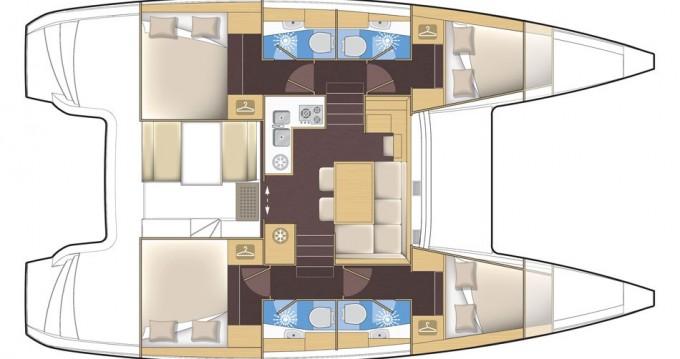 Catamarano a noleggio a Port of Lefkada al miglior prezzo