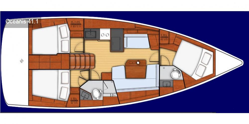 noleggio Barca a vela  - Bénéteau Oceanis 41.1