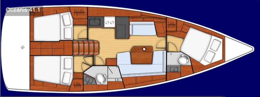 noleggio Barca a vela Leucade - Bénéteau Oceanis 41.1