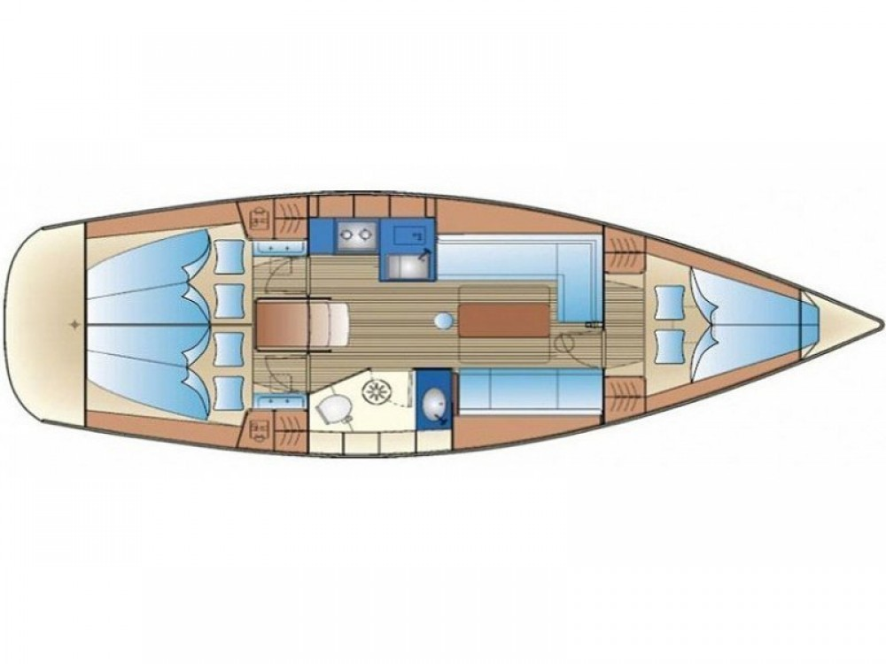 noleggio Barca a vela Lemmer - Bavaria Bavaria 34 Cruiser