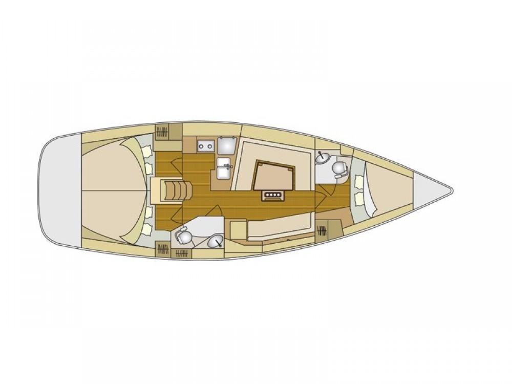 Noleggio barche Elan Elan 40 Impression Zaravecchia su Samboat