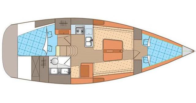 Noleggio Barca a vela a Biograd na Moru – Elan Elan 340
