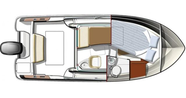 Noleggio barche Biograd na Moru economico Merry Fisher 725