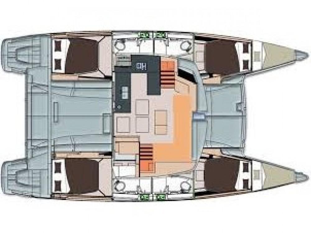 Noleggio barche Le Marin economico Helia 44