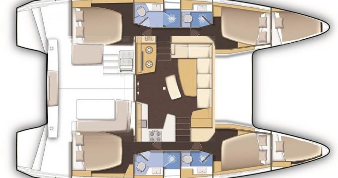Noleggio yacht a Le Marin – Lagoon Lagoon 42 su SamBoat