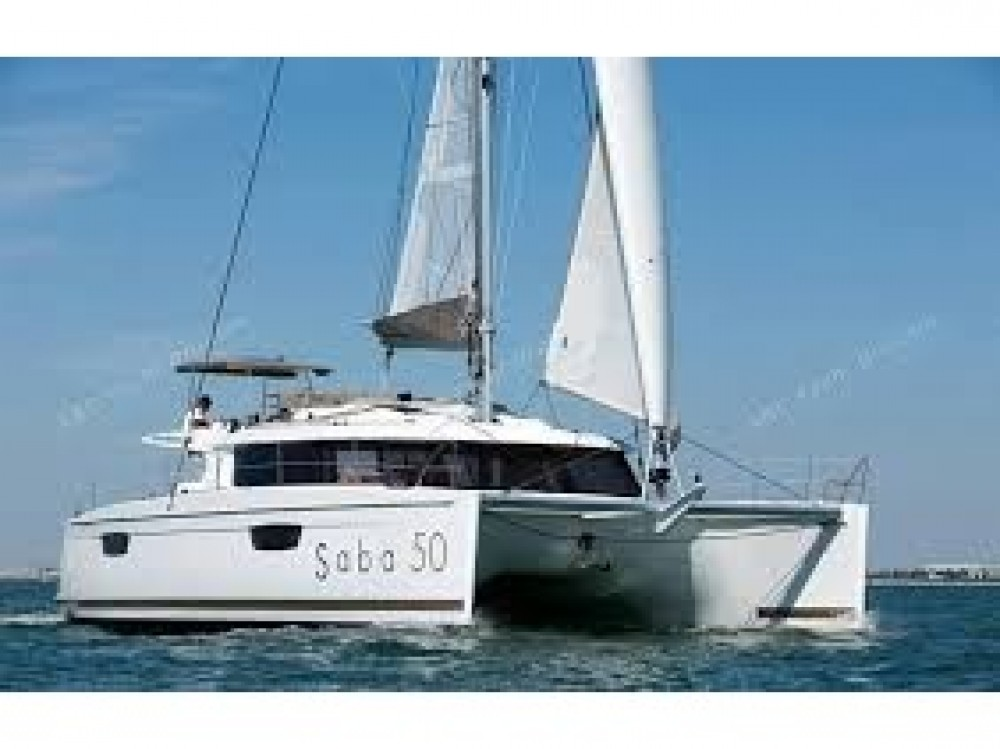 Noleggio yacht Le Marin - Fountaine Pajot Saba 50 su SamBoat