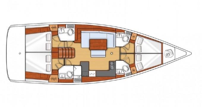 Noleggiare una Bénéteau Oceanis 48 LR a Sebenico