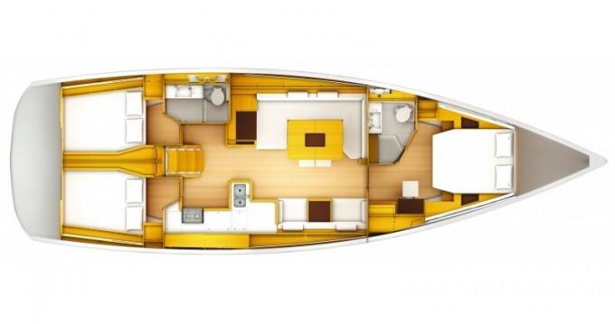 Noleggio Barca a vela a Sebenico – Jeanneau Sun Odyssey 509