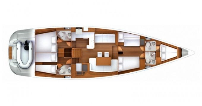 Noleggio barche Jeanneau Jeanneau 57 a Sebenico su Samboat