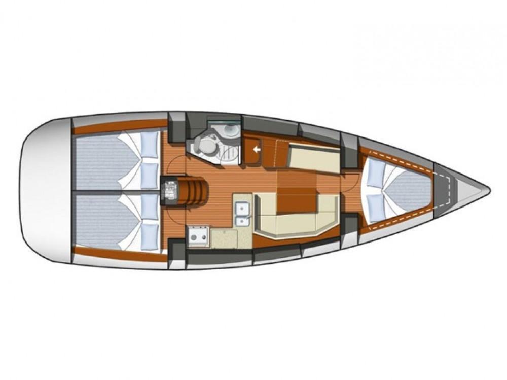 Noleggio barche Jeanneau Sun Odyssey 36i Sebenico su Samboat