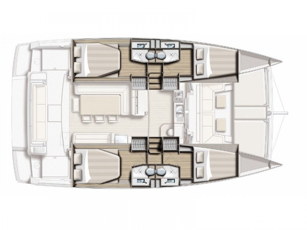 Noleggio yacht Salerno - Bali Bali 4.1 Sa su SamBoat
