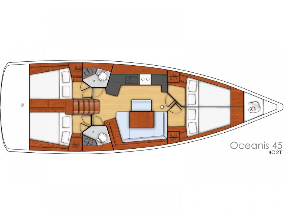 Barca a vela a noleggio Sebenico al miglior prezzo