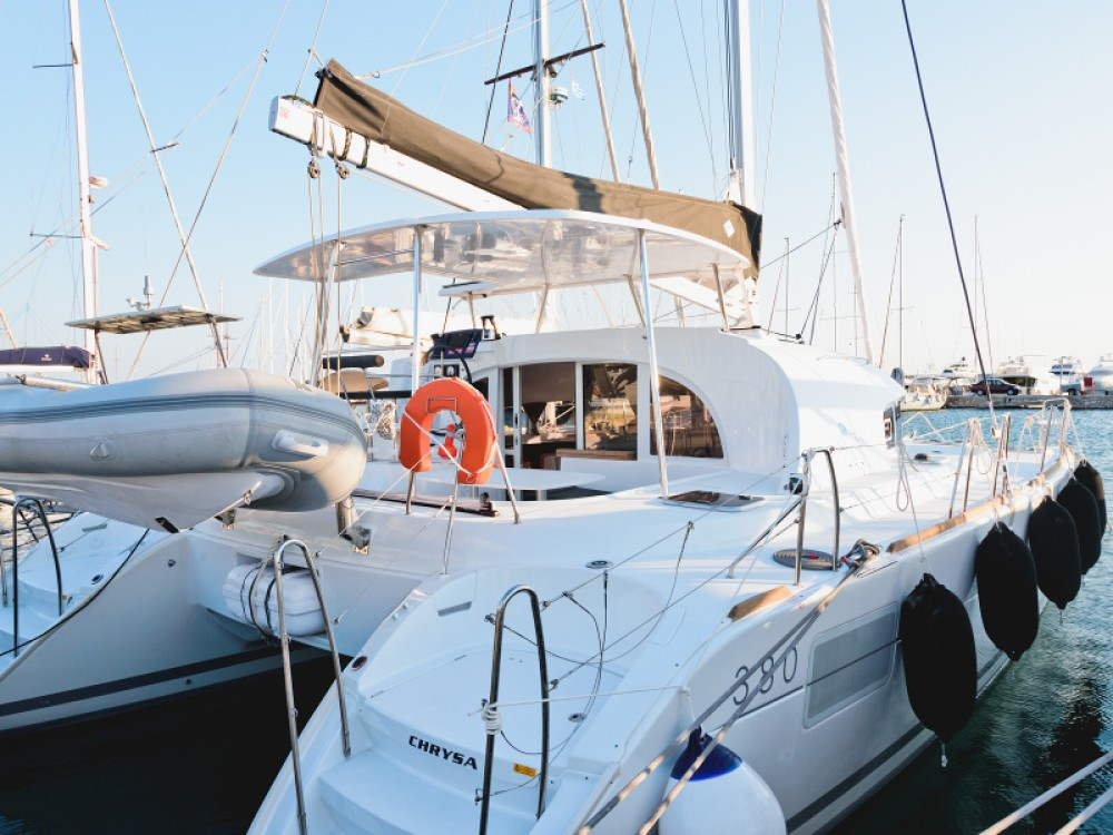 Noleggio yacht Álimos - Lagoon Lagoon 380 su SamBoat