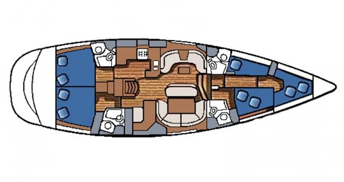 Noleggio Barca a vela a Betina – Jeanneau Sun Odyssey 54 DS