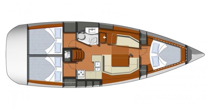 Noleggio barche Betina economico Sun Odyssey 37