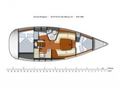 Noleggio Barca a vela a Betina – Jeanneau Sun Odyssey 32i