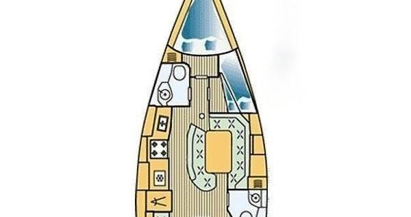 Noleggio Barca a vela a Betina – Jeanneau Sun Odyssey 42.2