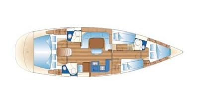 Noleggio barche Betina economico Bavaria 49