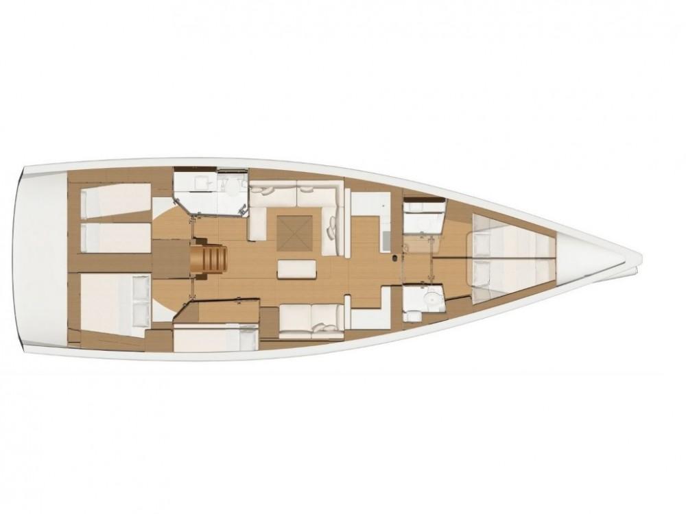 Noleggio barche Olbia economico Dufour 520 GL
