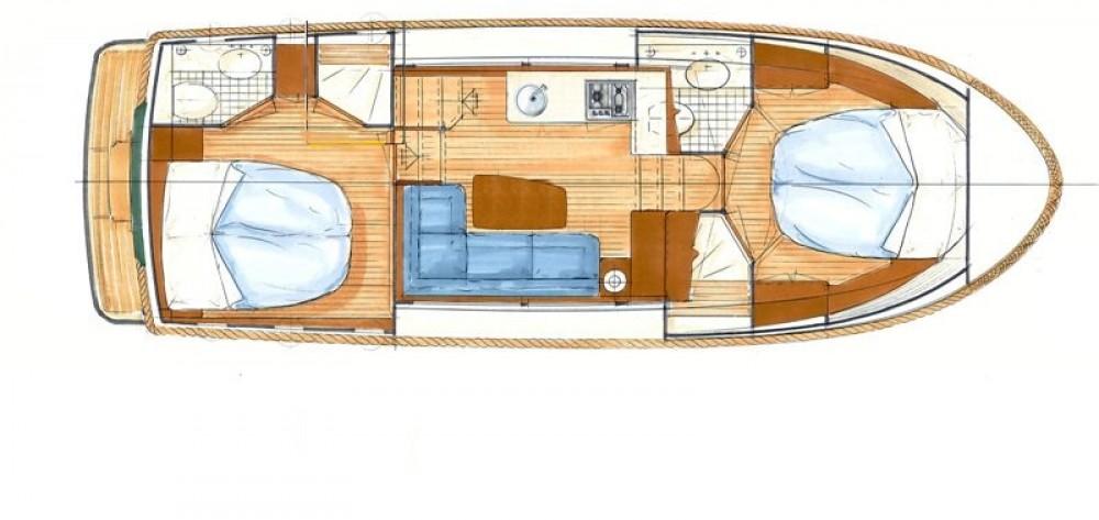 Noleggio yacht Capestang - Linssen Linssen Classic Sturdy 32 AC su SamBoat
