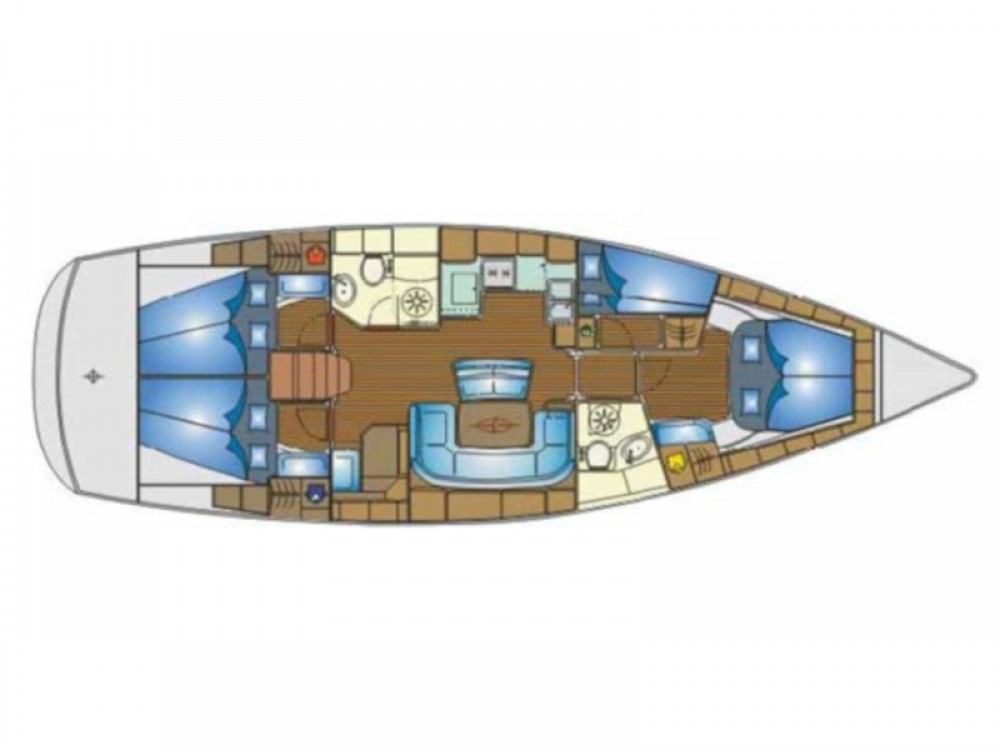 Barca a vela a noleggio Fezzano al miglior prezzo